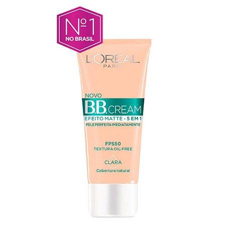 Bb Cream L'Oréal Paris Efeito Matte Fps 50 30G - Clara