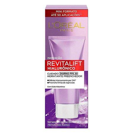 Creme diurno Revitalift Hialurônico tubo 25g, L'Oréal Paris