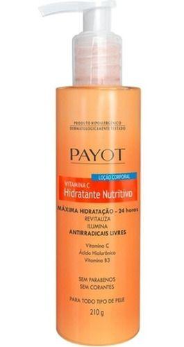 Payot Hidratante Corporal Nutritivo Vitamina C 210ml
