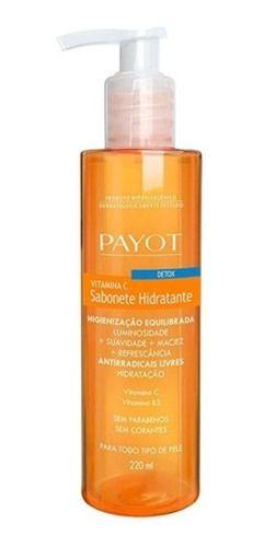 Payot Sabonete Liquido Detox Vitamina C 220ml