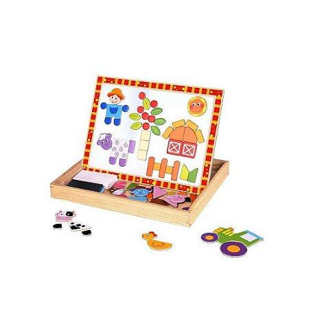Quadro Magnético Tooky Toy Fazenda