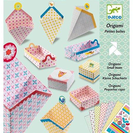 Dobradura Djeco Origami Caixinhas