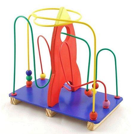 Aramado Bem Infantil Foguete