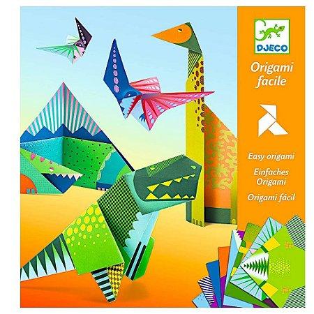 Dobradura Djeco Origami Dinossauros
