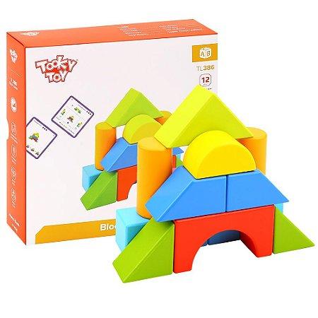 Jogo dos Blocos Tooky Toy 40 Desafios