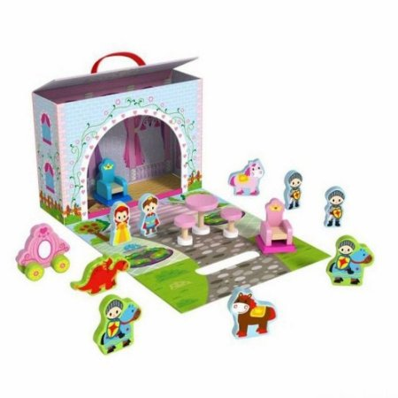 Caixa Divertida Tooky Toy Castelo