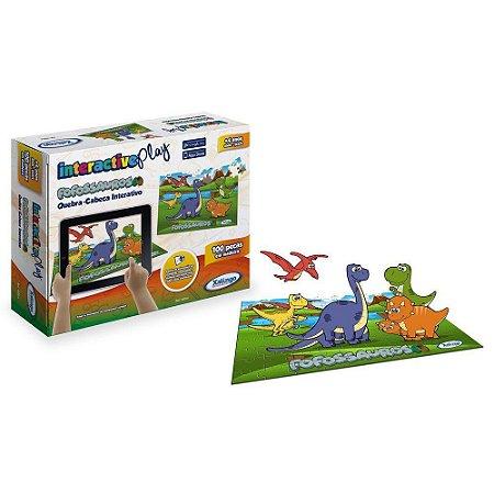 Quebra-Cabeça Interactive Play Xalingo Fofossauros