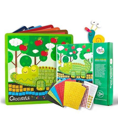 Kit de Artesanato com Acessórios - Mosaico Animais
