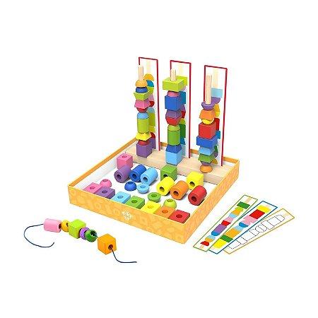 Super Caixa Tooky Toy Encaixe e Laço