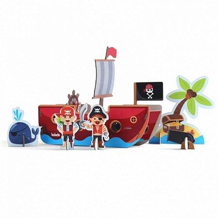Quebra-Cabeça 3D Babebi Piratas