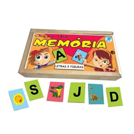 Jogo da Memória Simque Letras e Figuras