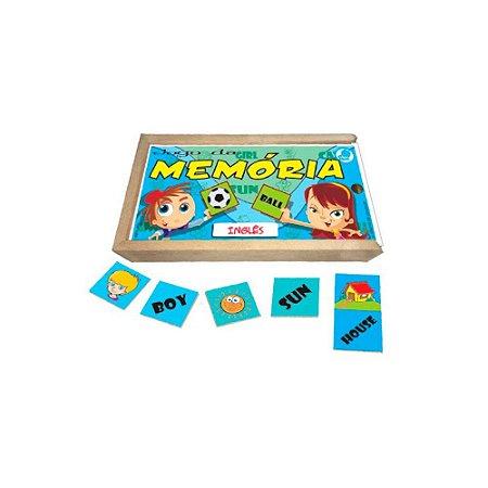 Jogo da Memória Simque Inglês