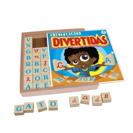 Jogo Letras Divertidas Simque