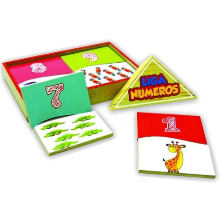 Jogo Liga Números Maninho em Madeira
