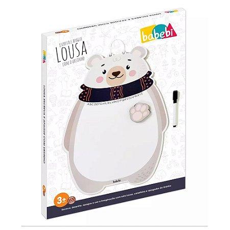 Lousa Babebi Escreva e Apague com o Ursinho
