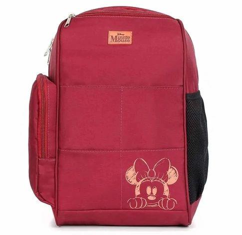 Mochila Maternidade Backpack Top Minnie | Cor: Vinho