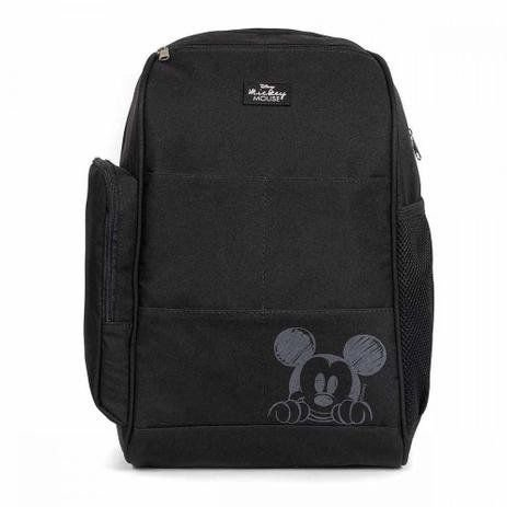 Mochila Maternidade Backpack Top Mickey | Cor: Preto