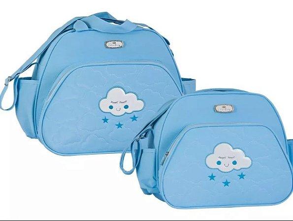 Kit Maternidade Nuvem | Cor: Azul Claro