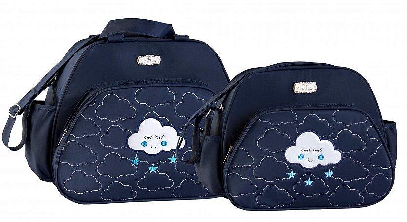 Kit Maternidade Nuvem | Cor: Azul