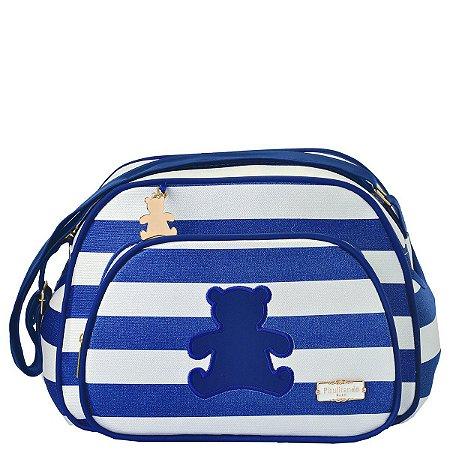 Bolsa Maternidade Ursinho Pequena | Cor: Azul