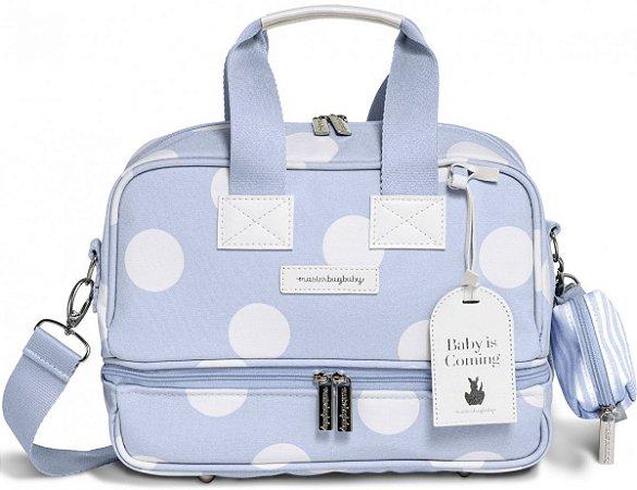 Bolsa Térmica Maternidade MasterBag Baby Vicky Bubbles | Cor: Azul
