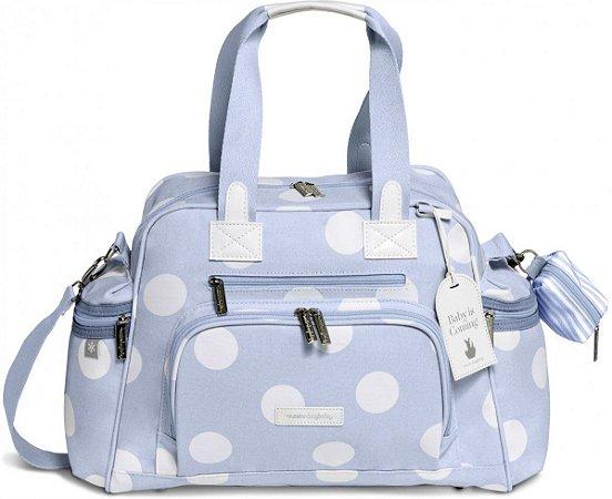 Bolsa Maternidade Térmica MasterBag Baby Everyday Bubble | Cor: Azul