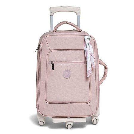 Mala Maternidade de Rodinha Flora Masterbag 1 compartimento | Cor: Rose