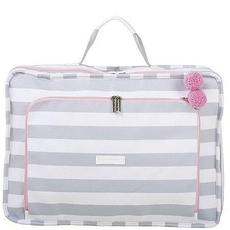Mala Maternidade Masterbag Vintage Candy Colors | Cor: Ice Pink