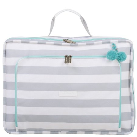 Mala Maternidade Masterbag Vintage Candy Colors | Cor: Ice Menta