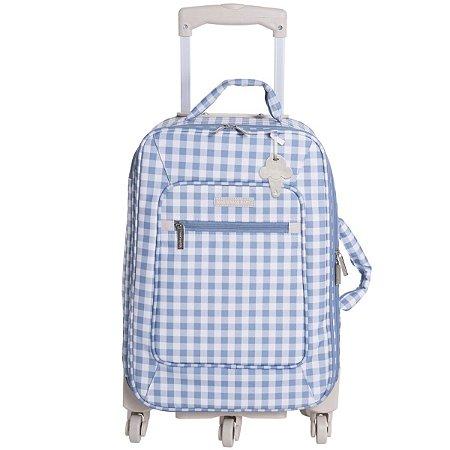 Mala Maternidade de Rodinhas Sorvetinho Masterbag | Cor: Azul
