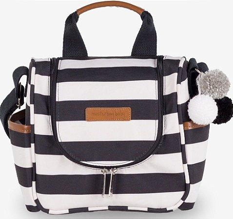 Frasqueira Térmica Masterbag Baby Emy Brooklyn | Cor: Brooklyn Preto