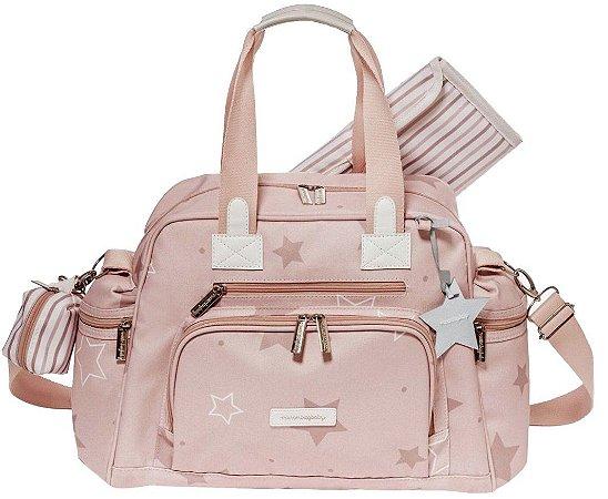 Bolsa Maternidade Everyday Masterbag Estrelas | Cor: Rose
