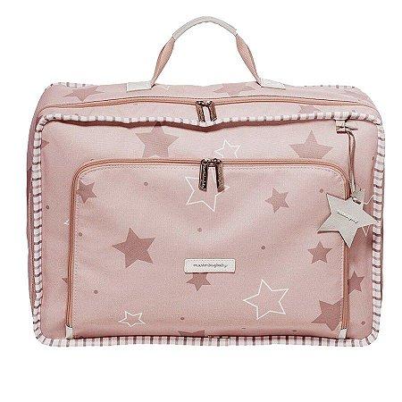 Mala Maternidade Masterbag Vintage Estrelas | Cor: Rose