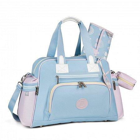 Bolsa Maternidade Everyday com Bolso Térmico Colors Masterbag | Cor: Azul