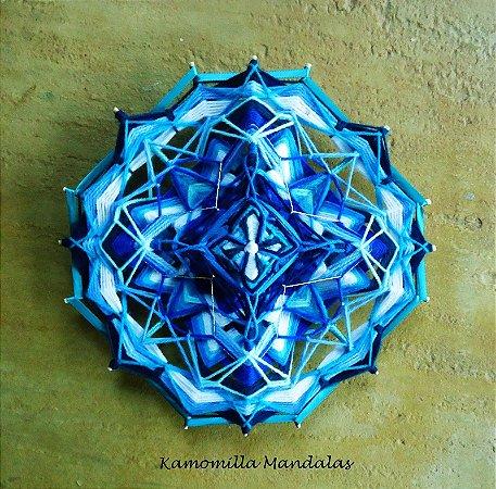 Mandala Estelar 30 cm 16 pontas