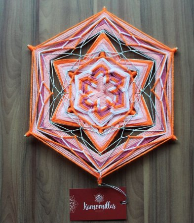 Mandala 6 pontas
