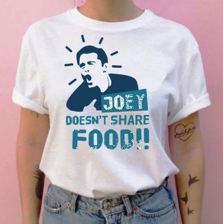 Camiseta Friends Joey Doesnt Share Food