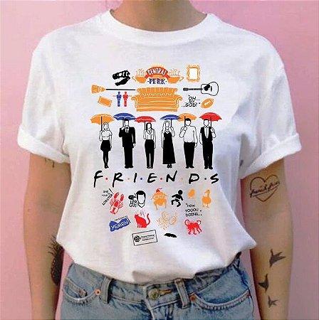 Camiseta Friends Vários Desenhos