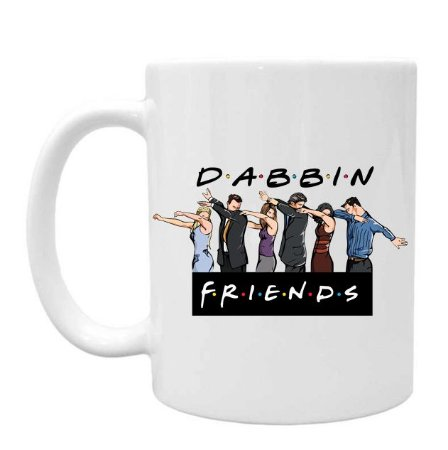 Caneca Friends Dabbin