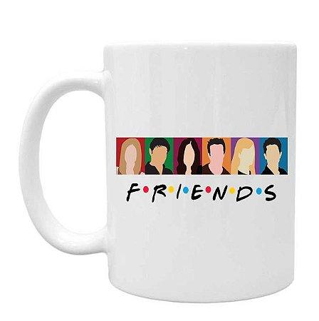 Caneca Friends Rosto Desenho