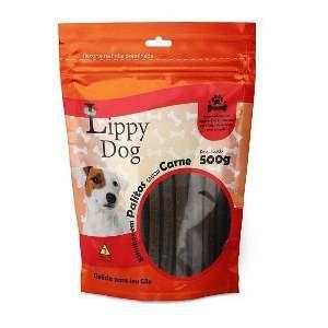 Bifinho palito carne 500g - Lippy Dog