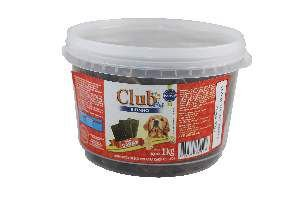 Bifinho carne adulto 1kg - Club Pet Doogs