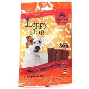 Bifinho barra sache carne 50g - Lippy Dog