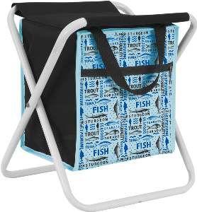 Bolsa termica poliester com banco 11L azul - Sak's - 23x26x19cm