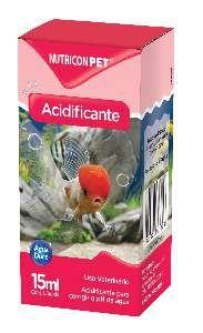 Acidificante para aquarios 15ml - Nutricon
