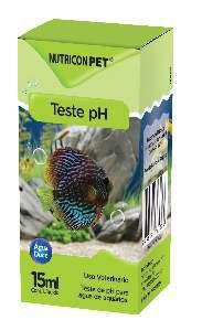 Teste pH para aquarios 15ml - Nutricon