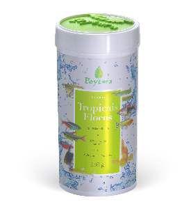 Racao tropicais flocos 130g - Poytara Racoes - 390 x 295 x 193mm
