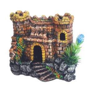 Enfeite castelo decorado - Trema - 13x8x12cm