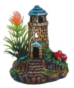 Enfeite farol decorado mini - Trema - 8x8x9cm
