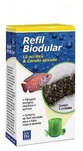 Refil filtro biodular  - Still Pet - caixa com 2 pecas - 7,9 x 4 x 14,5cm
